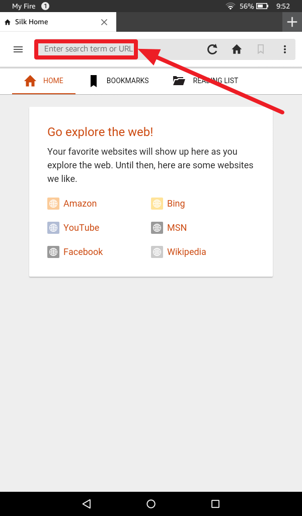 Amazon Fire Silk Browser: How To Set Up